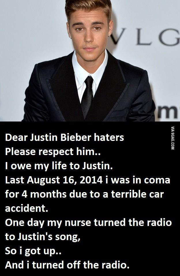 Dear Justin Bieber Haters Funny Pictures Funny Really Funny