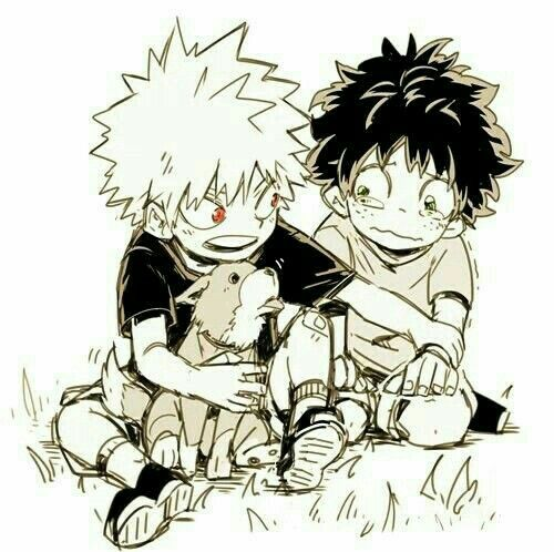Bakugou X Reader Childhood