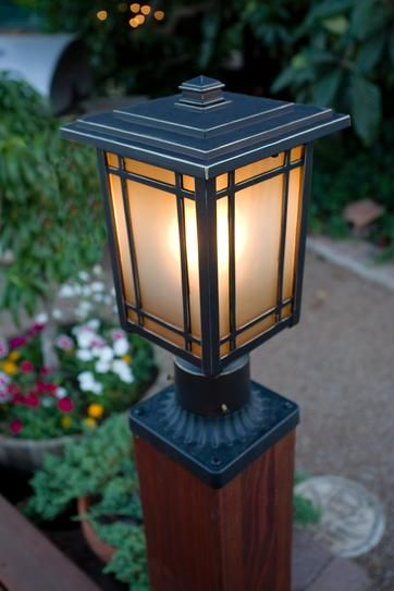 Home Decorators Collection Port Oxford 1 Light Oil Rubbed Chestnut Outdoor Post Mount Lantern 23116 The Home Depot Outdoor Post Lights Post Mount Lantern Wall Lamp Design
