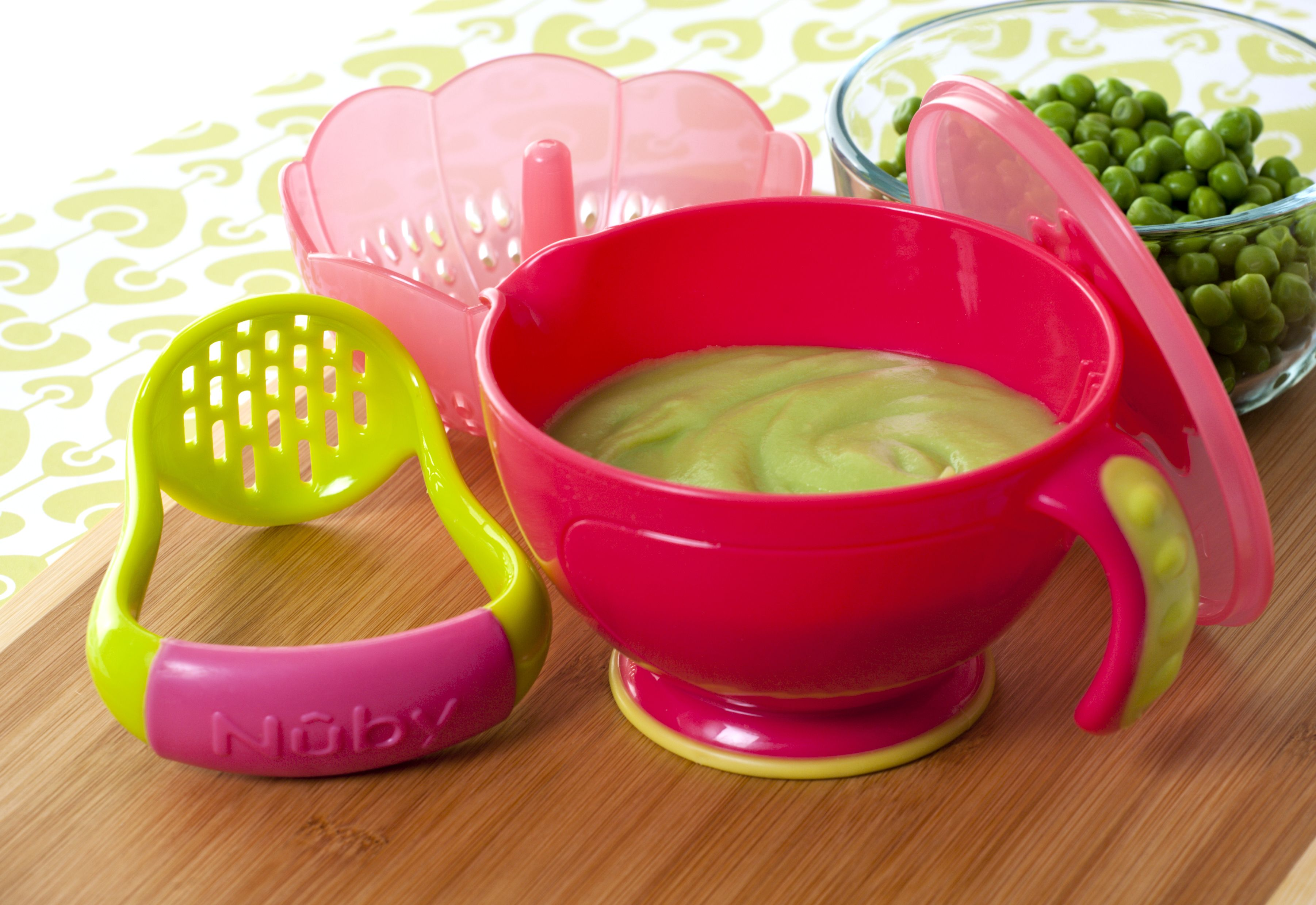 Baby Food Prep Bowl and Food Masher