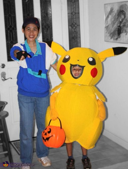Pikachu and Ash - Halloween Costume Contest at Costume-Works.com  sc 1 st  Pinterest & Pikachu and Ash - Halloween Costume Contest at Costume-Works.com ...