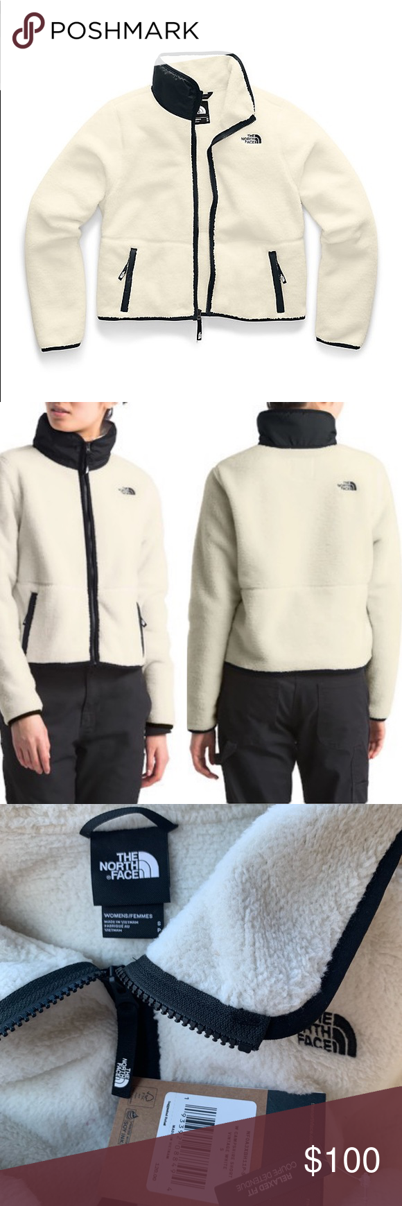The North Face Women S Dunraven Sherpa Crop Jacket North Face Women Crop Jacket North Face Sweater