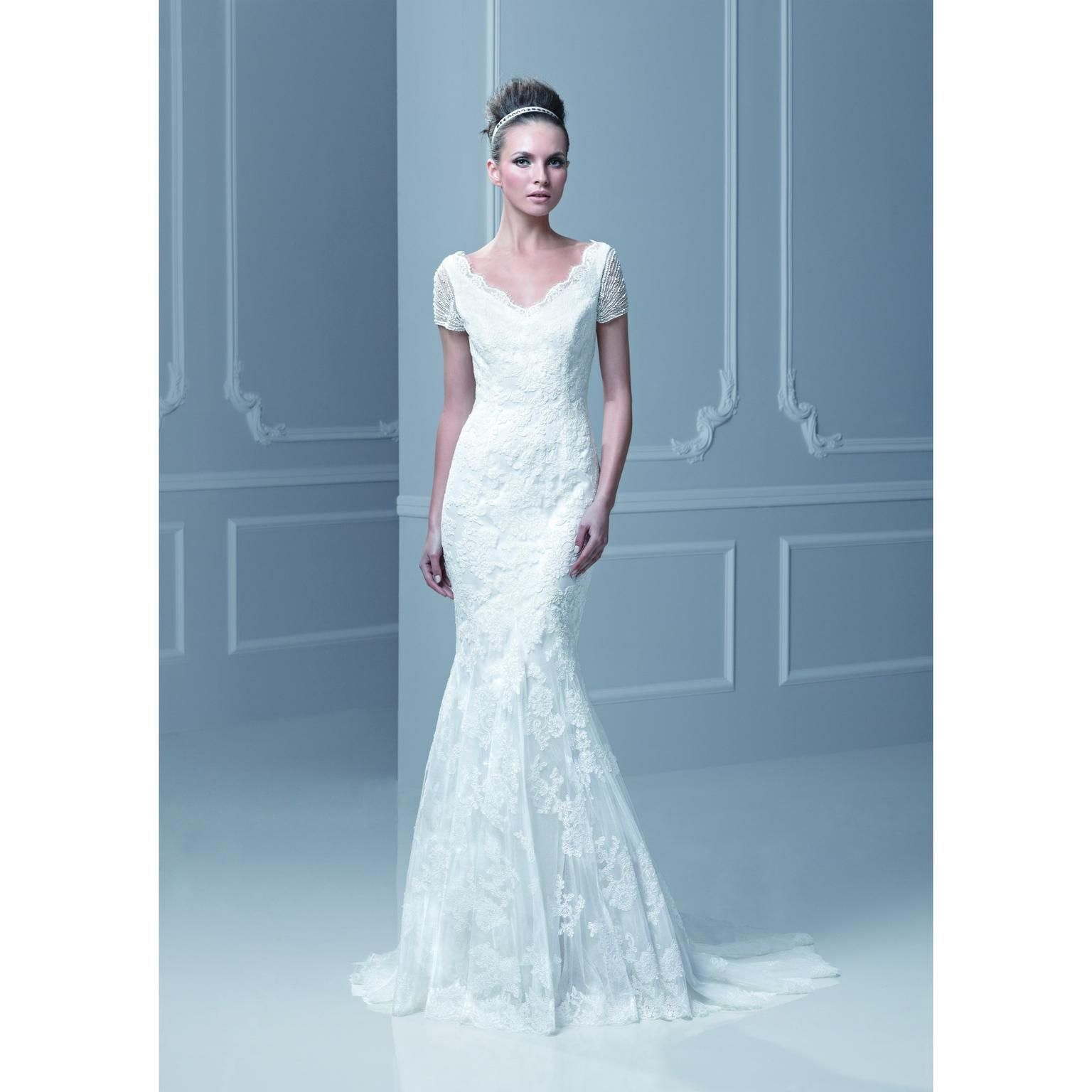 Enzoani FELDA, $1,200 Size: 4 | Used Wedding Dresses | Wedding ...