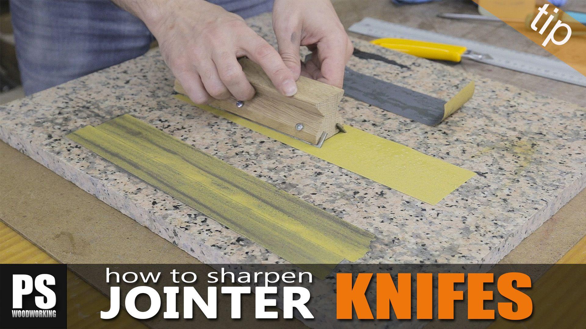 Cómo fabricar una plantilla de madera casera para poder afilar las ...