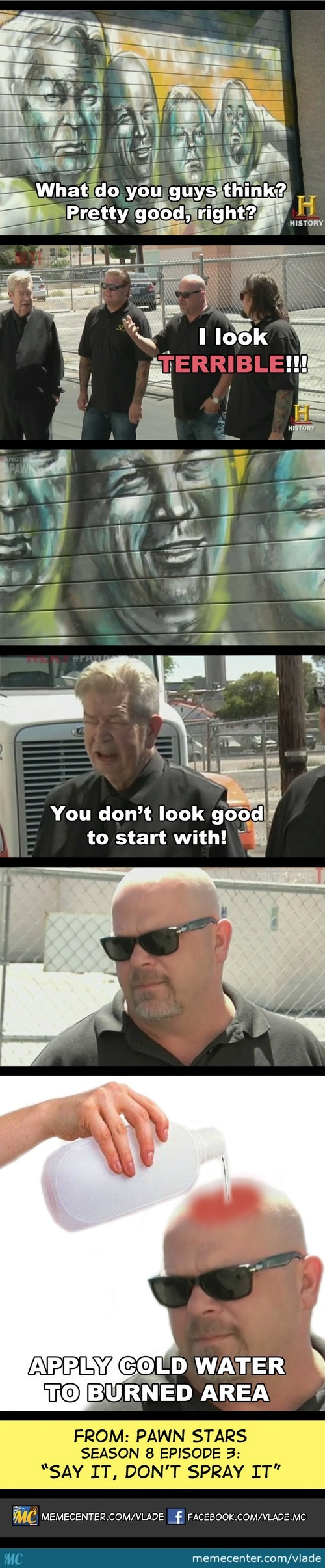 Pawn Stars Coffee Poop Meme