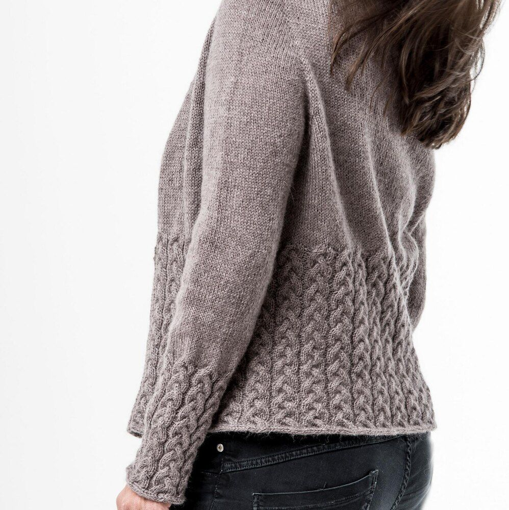 Photo of Nala Cardi Knitting pattern by Regina Moessmer