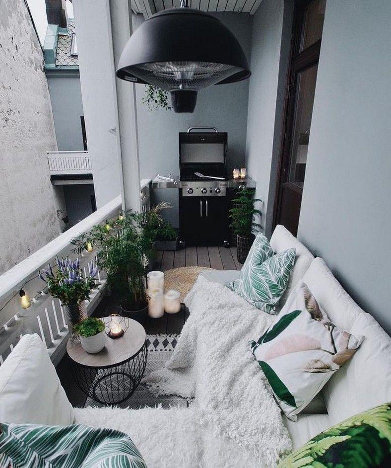 Photo of 70 idéias de decoração de varanda de apartamento pequeno 3,  #apartamento #Decoração #ideias