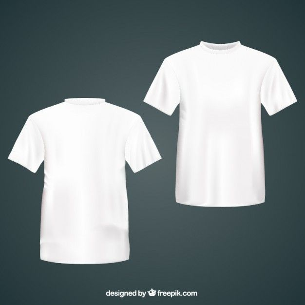 Download White T Shirts T Shirt Design Template Free Shirts White Tshirt