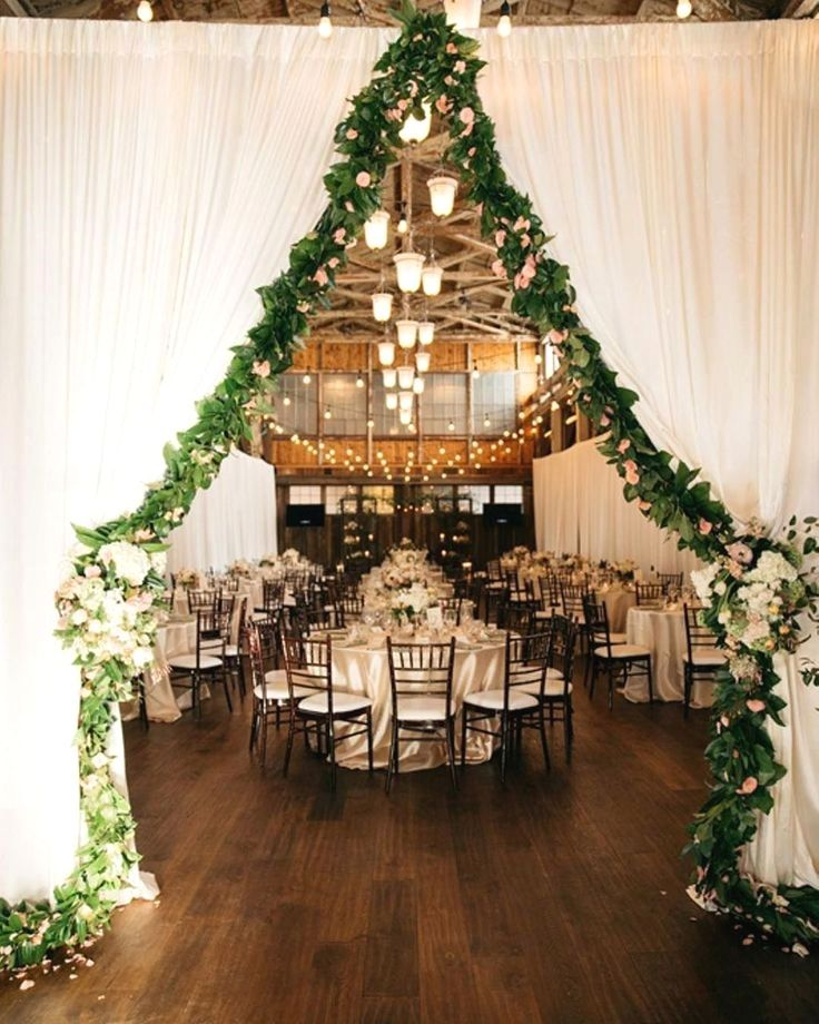 7 Barn Wedding Decoration Ideas For A Spring Wedding: New Winter Wedding Decoration Ideas #weddingideas