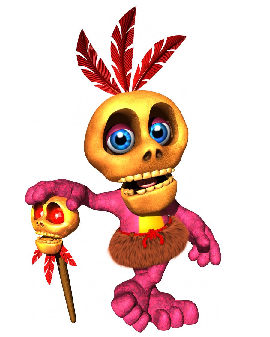 So He S A Jinjo Banjo Kazooie Banjo Video Game