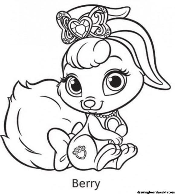 Palace Pets Coloring Pages Coloring Pages Free Coloring Pages Palace Pets