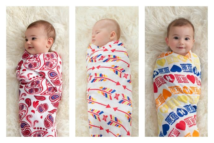 Aden And Anais Swaddle Blankets Captivating Celebrity Moms Create Gorgeous Swaddle Blankets For Red  Babies Design Ideas