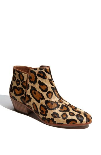 238efbcb9207 Everyone needs a little leopard print in their closet! Sam Edelman  Petty   Bootie available at  Nordstrom