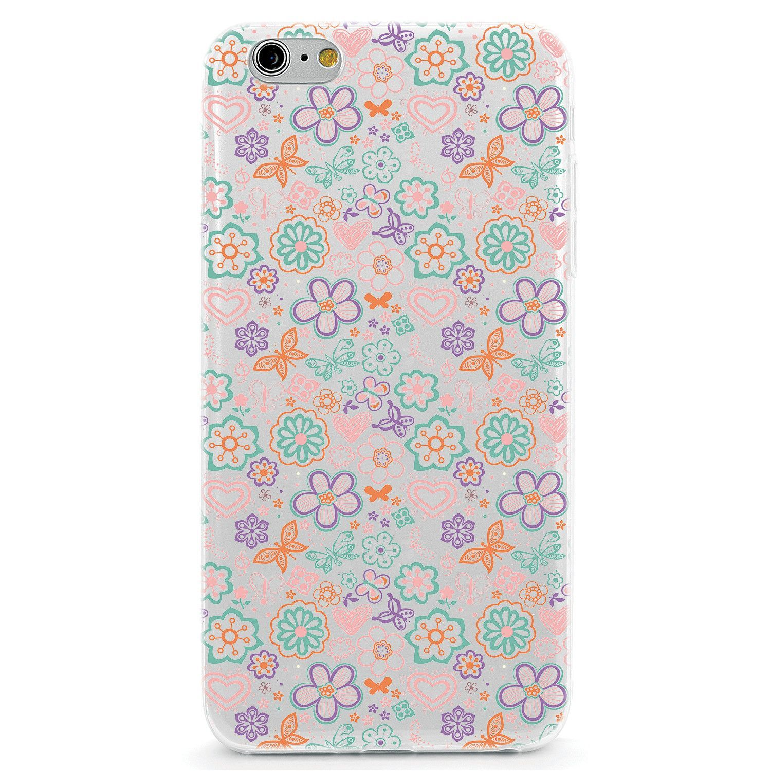 Flowers and Butterfly Pattern