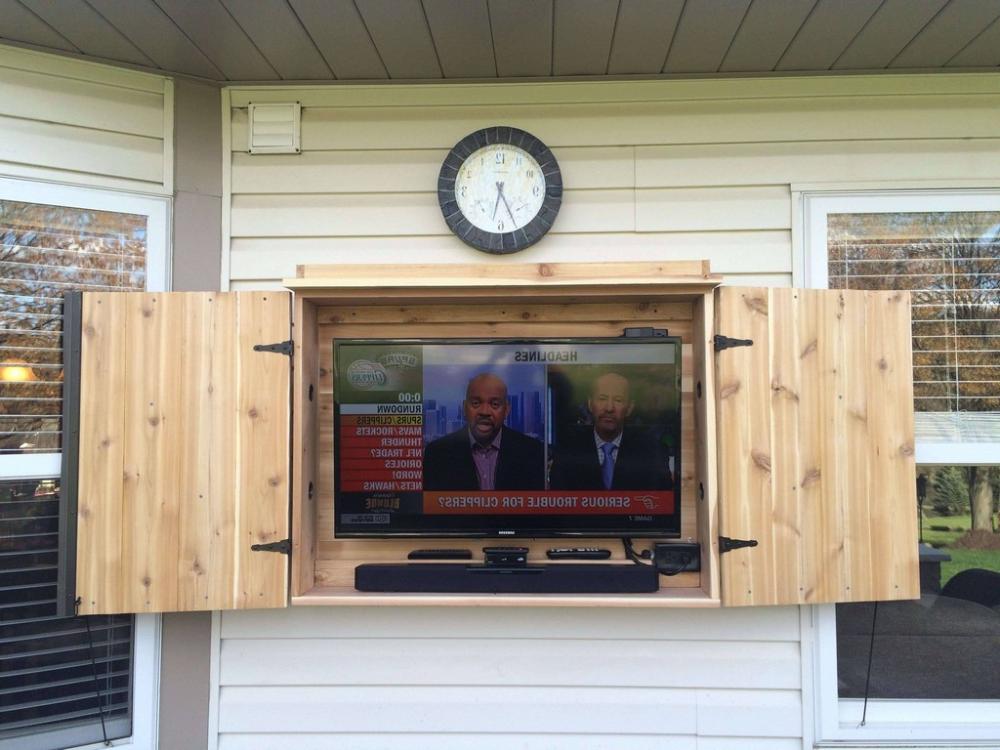 furniture. outdoor tv lift cabinet: Pop Lift Footboard ...