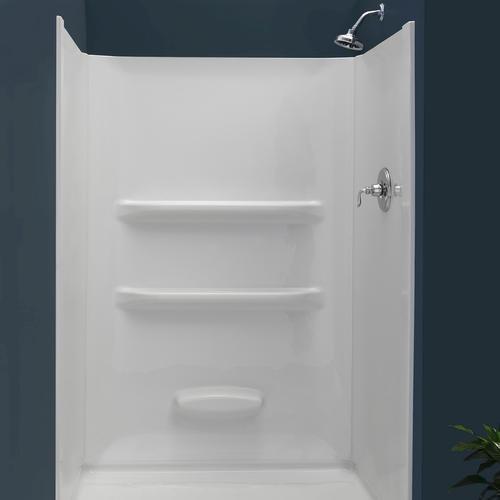 199 Lyons Elite 48 X 34 White Shower Wall Surround Shower Surround Shower Wall Shower Tub