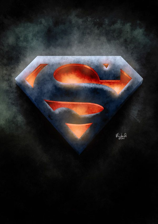 Superman Logo Superman Superman Art