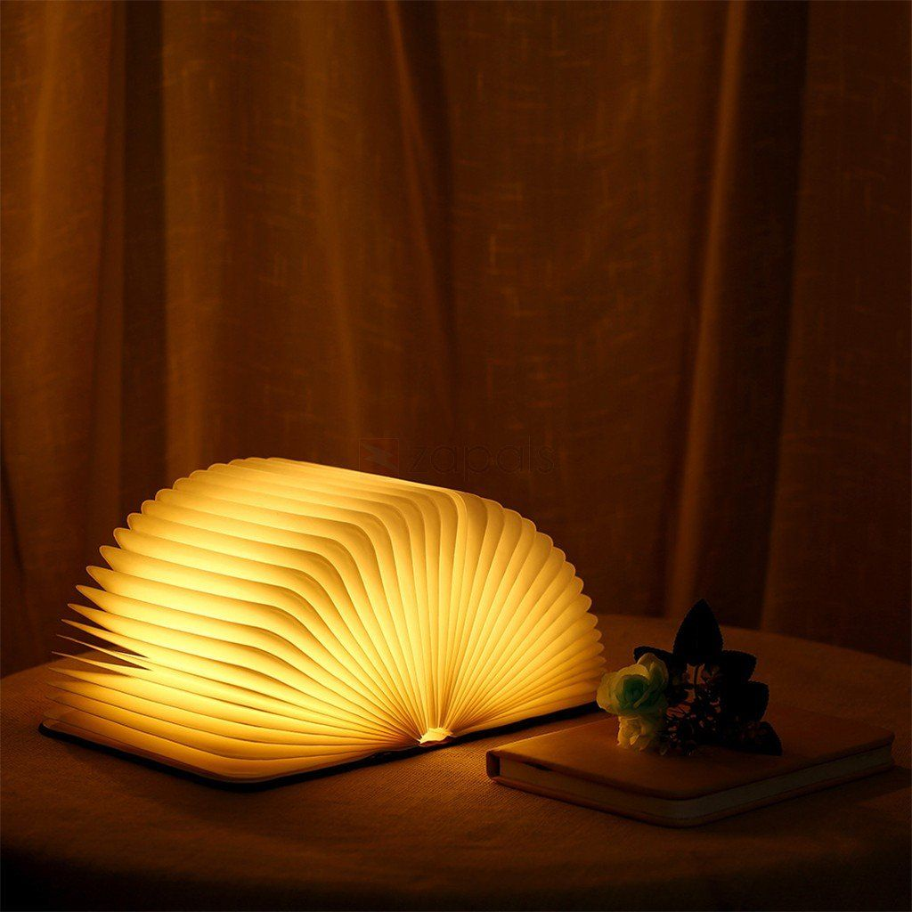 Folding Book Lamp Book Lamp Lamp Wooden Books