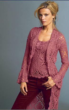 Jersey, top, chaqueta - Ana Garcia - Picasa Web Album