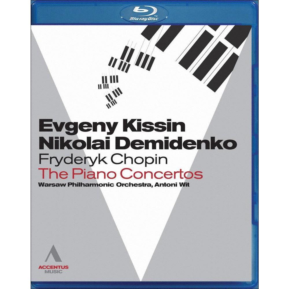 Evgeny Kissin/Nikolai Demidenko: Fryderyk Chopin - The Piano Concertos (Blu-ray)