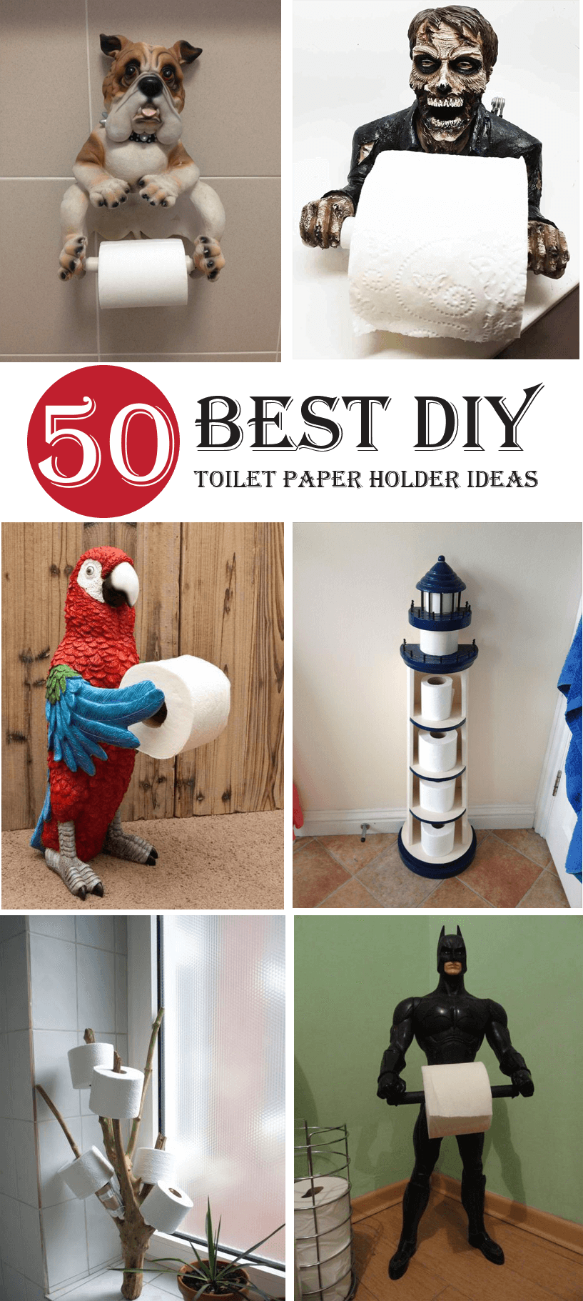 Best diy toilet paper holder ideas