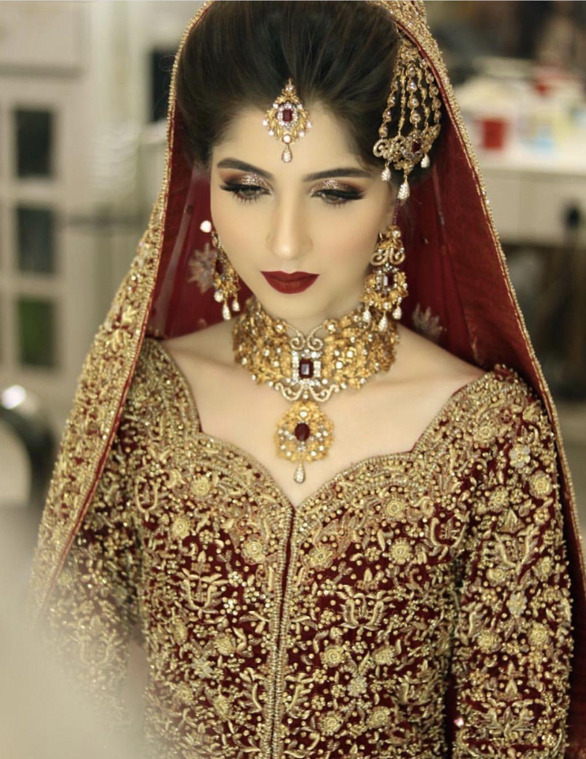 Barat Bride Bridal Wear In 2019 Bridal Dresses Indian Muslim Asian Bridal Dresses Bridal Wear Pakistani Bridal Wear