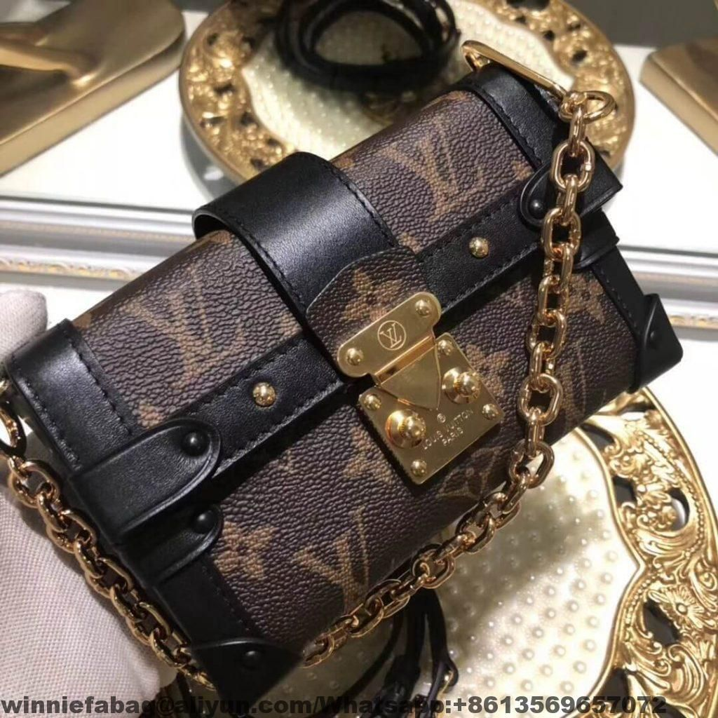 8f21e2016f3c Louis Vuitton Essential Petite Malle Trunk Bag M62553 2018