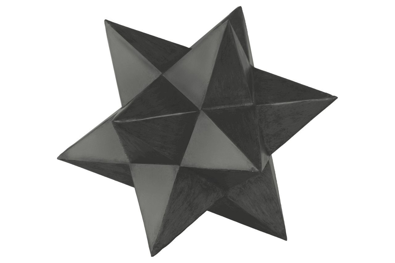 12 Point Stellated Icosahedron Sculpture