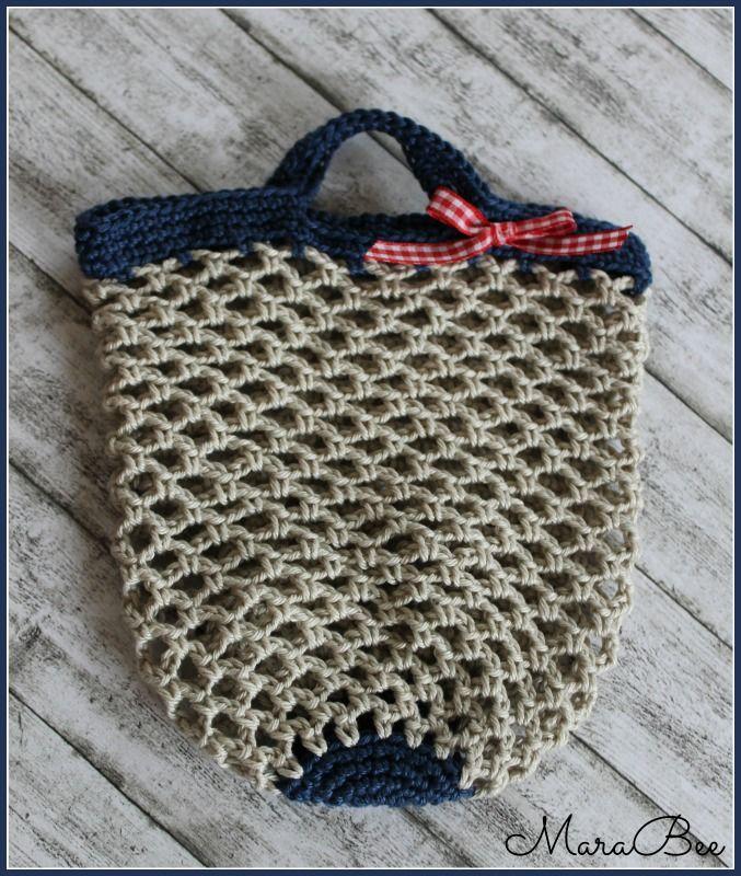 Einkaufsnetz Für Kinder Häkelncrochet Pinterest Crochet