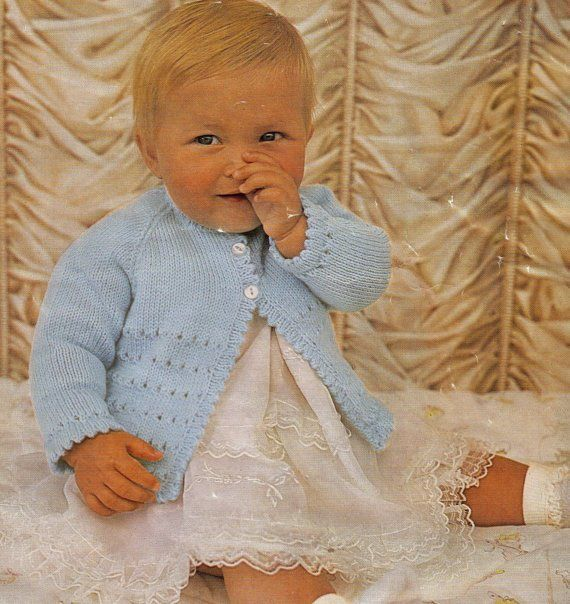 a489594b2 Knit Baby Lace Sweater Cardigan Instant Download  OhhhBabyBaby ...