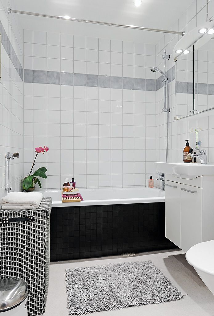 simple and calming (With images)   Small bathroom interior ...