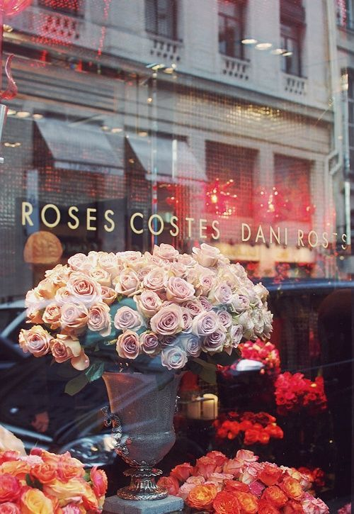 Roses Costes Dani Roses 239 Rue St Honore Paris Flower Shop Beautiful Flowers Flowers