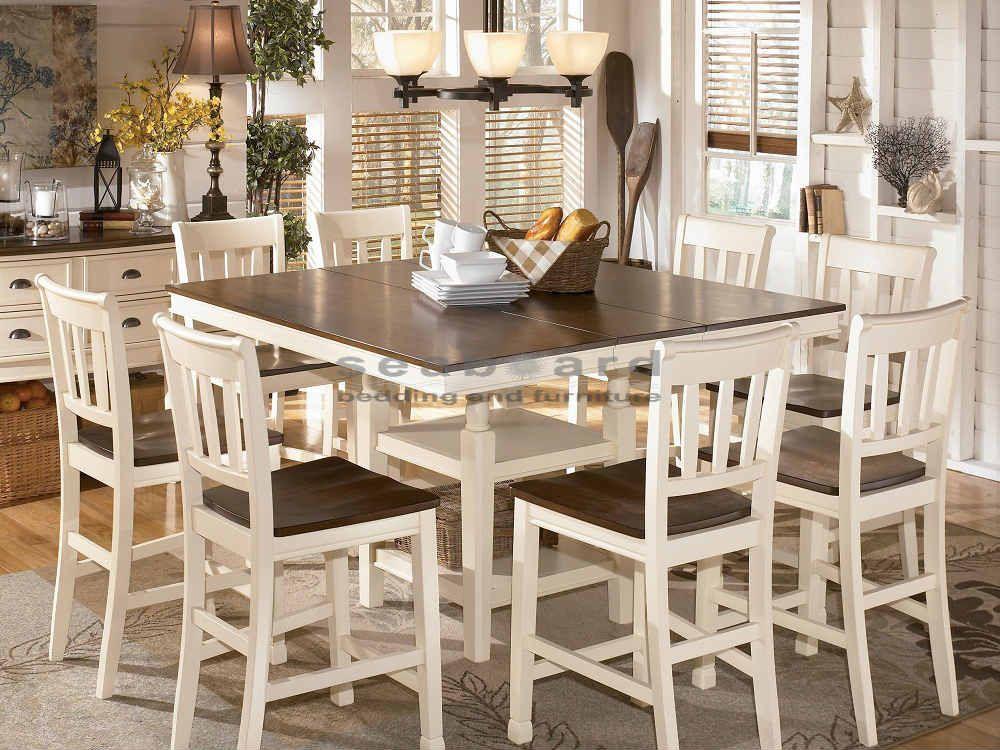 Weiße Bistro Tisch Und Stühle Küchen Weiße Bistro-Tisch Und Stühle