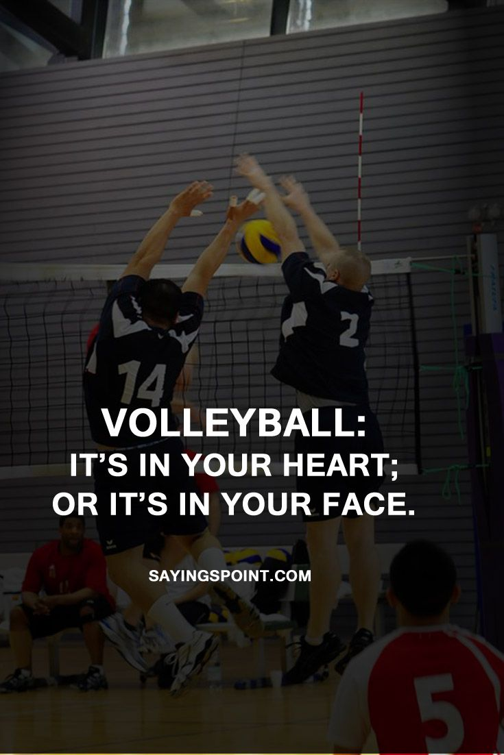 90 Inspirational Volleyball Quotes And Sayings Voleibol Frases Voley Voleyball