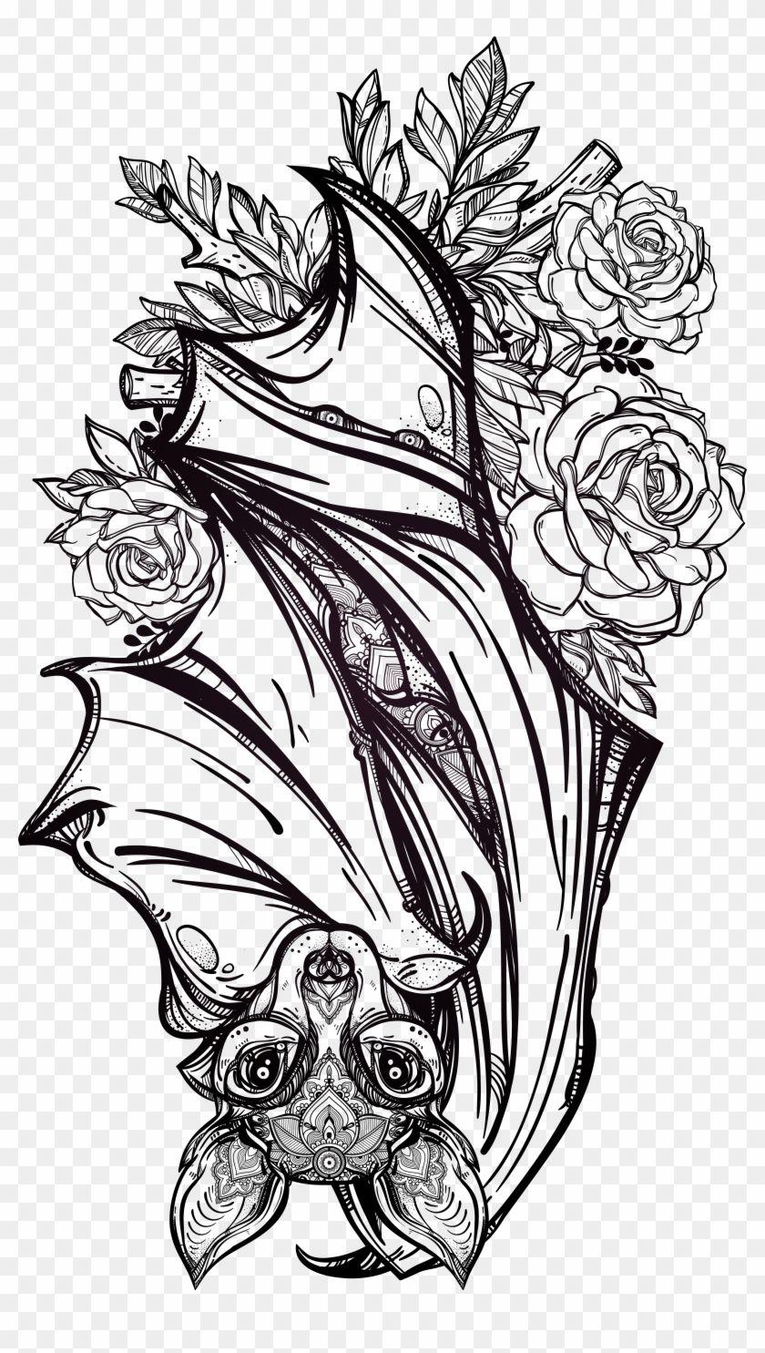 Tattoo Bat Fashion Artist Flash Gothic Bats Tattoo Design Gothic Tattoo Tattoo Design Drawings Tattoo designs hd images download