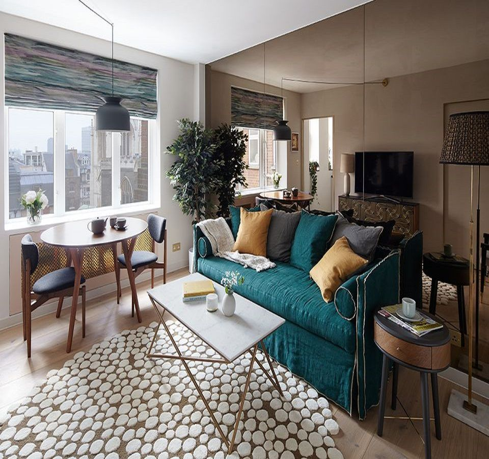 Beautiful Small Living Rooms: Sparkling Ideas To Decorate With Mirrored Furniture
