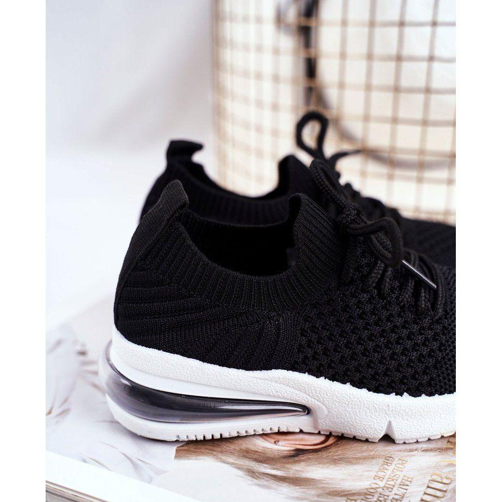 Frrock Obuwie Sportowe Dzieciece Sznurowane Czarne Lena Sneakers Nike Nike Air Max Air Max Sneakers