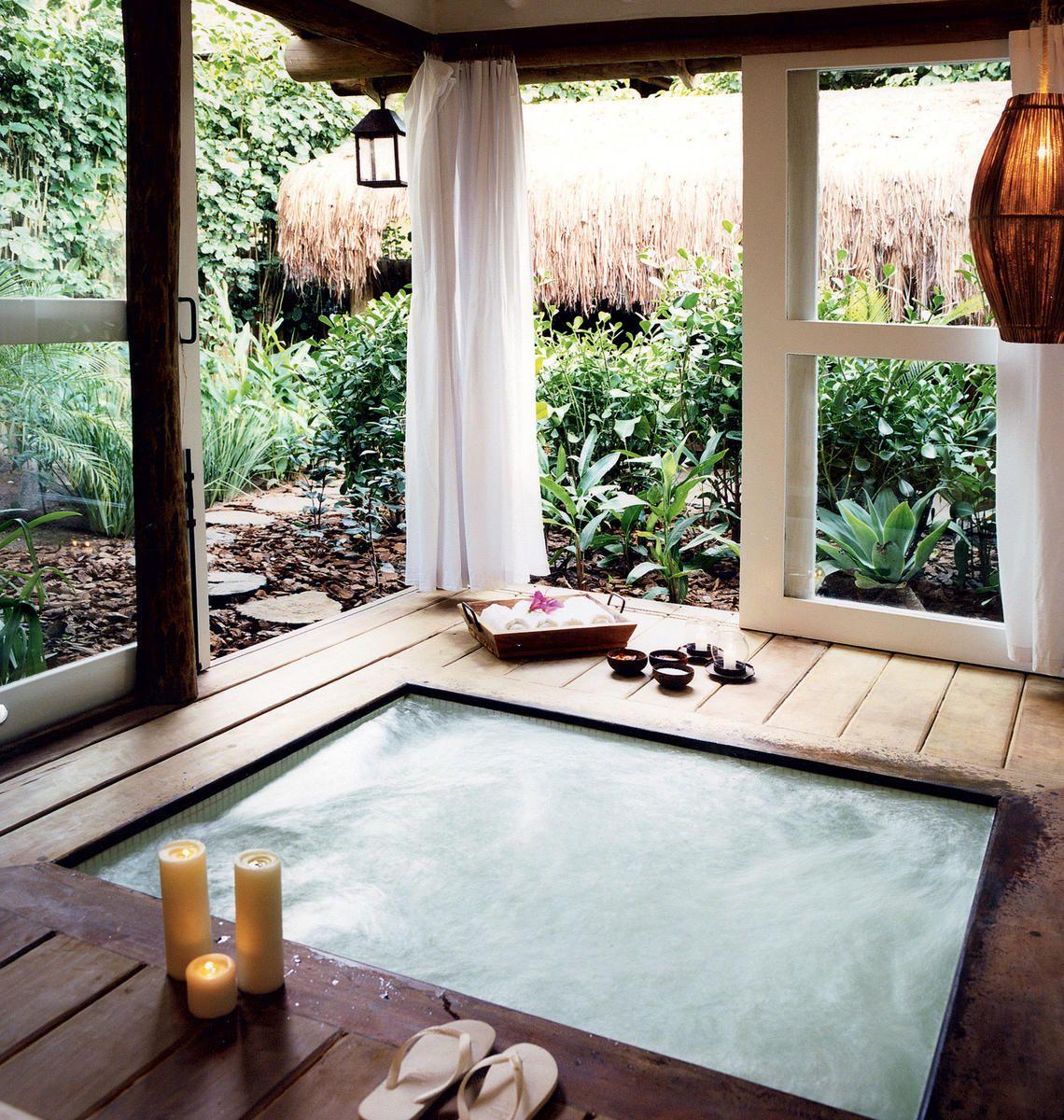 UXUA Casa Hotel & Spa Trancoso, Brazil Beachfront Hot Tub