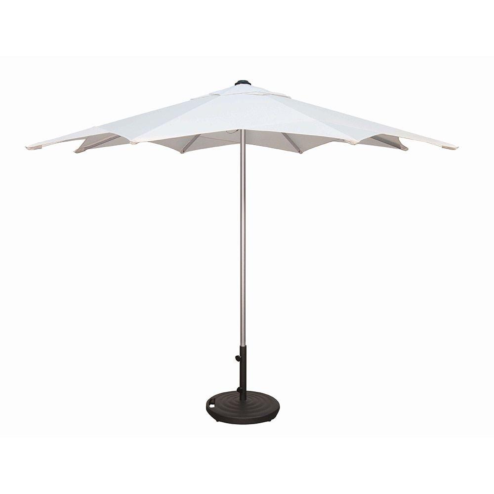 Treasure Garden 9 Milan Auto Tilt Umbrella Authenteak Patio