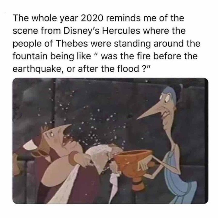 "Alternative Disney on Instagram: ""2020 was hell ✨F"
