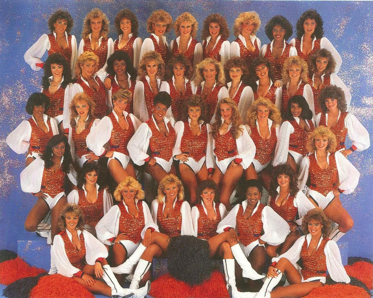 21add2308b7c3a CALUMET 412 — The 1985-86 Honey Bears, cheerleaders for the ...