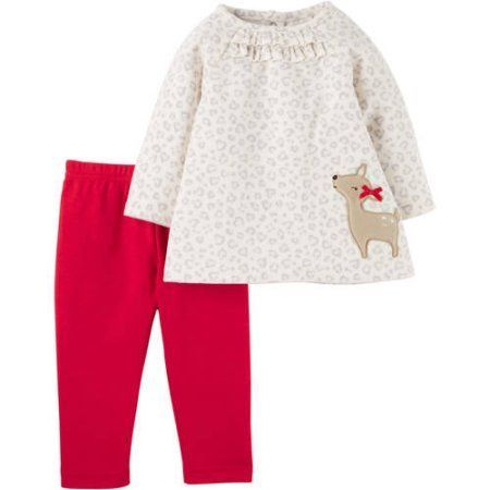 Child of Mine by Carter's Newborn Baby Girl Pant Set-2 Pieces - Walmart.com - Child Of Mine By Carter's Newborn Baby Girl Pant Set-2 Pieces