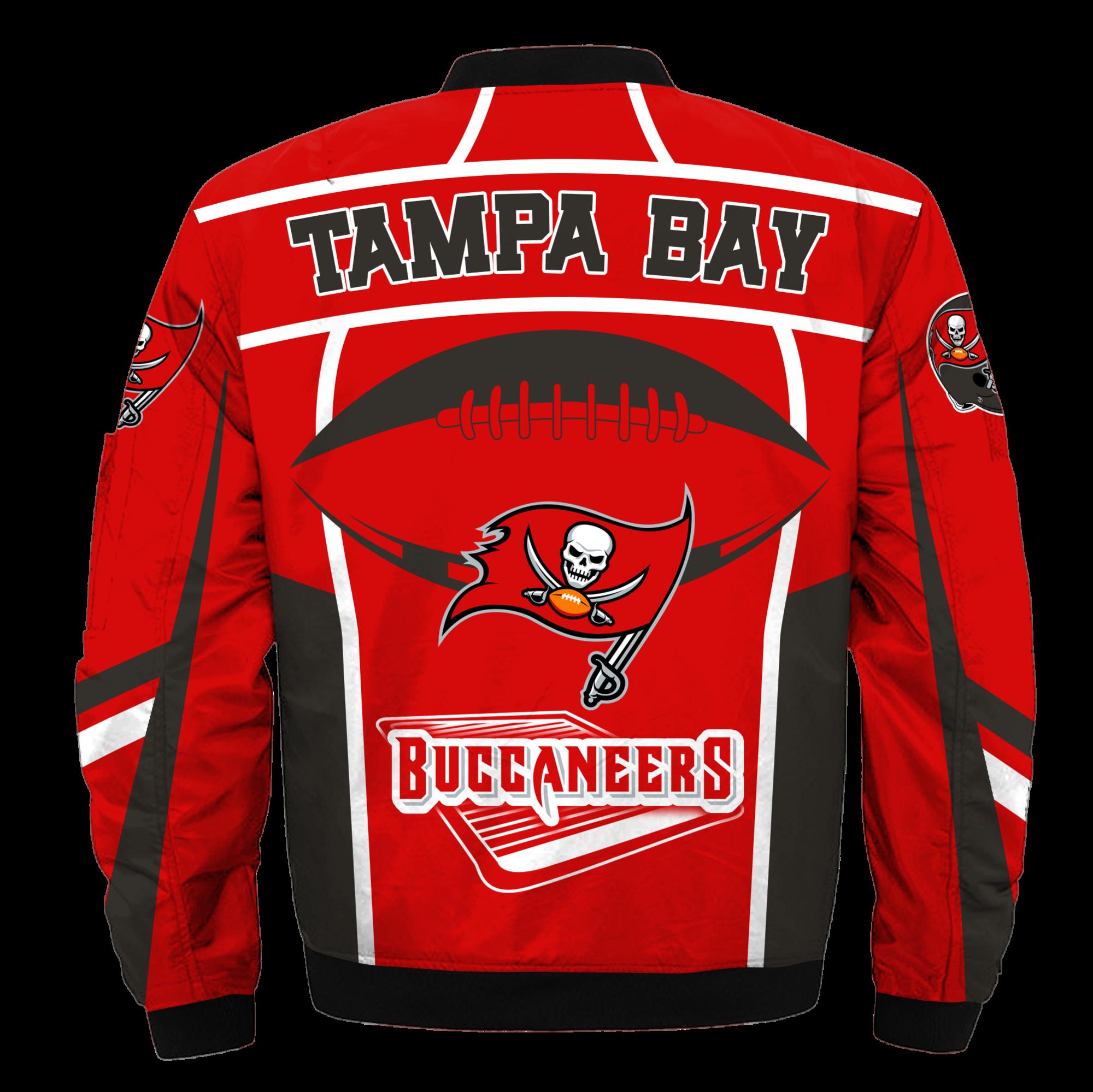 Tampa Bay Buccaneers Bomber Jacket Nfl Tampa Bay Buccaneers Apparel Nfl Chaquetas