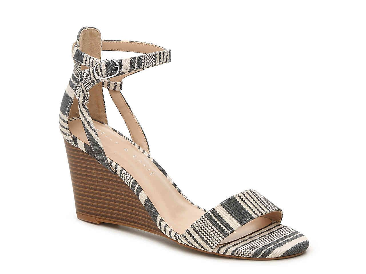 fe05d5f06a91 Tamra Wedge Sandal DESCRIPTION Simple yet chic is the name of the game with  the Kelly