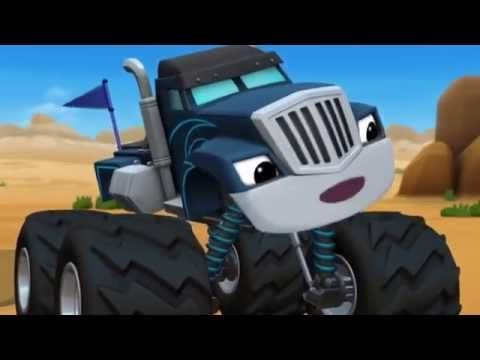 Blaze And The Monster Machines Season 1 Episode 8 Team Truck Challenge You