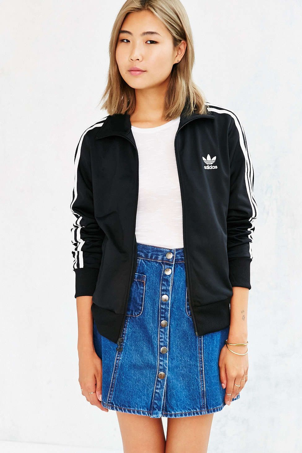 adidas Originals Supergirl Track Jacket from Urban Outfitters