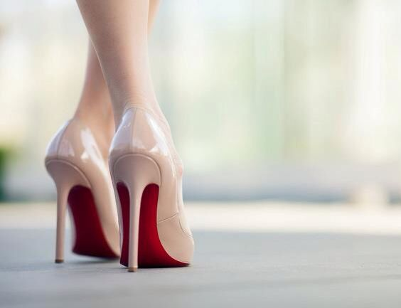 Nude Heels By Christian Louboutin
