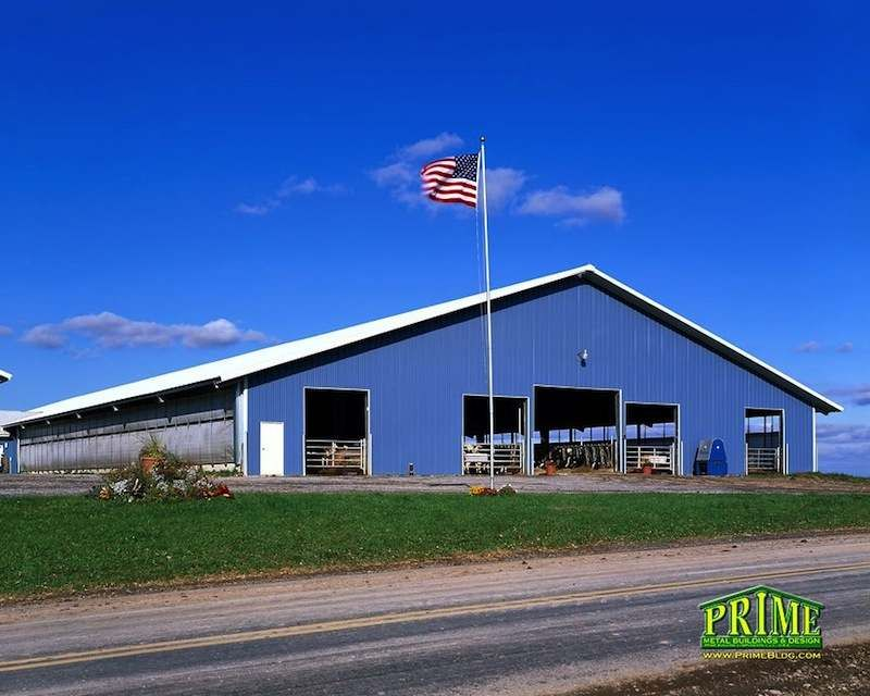 Metal Dairy Building Farm Roofing Siding