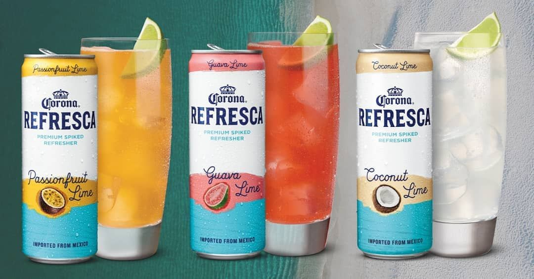 Now Available Just In Time For Memorial Day Weekend Corona Refresca Corona Refresca Is A Premium Spiked Refresh Coconut Lime Fruit Flavored Tropical Drink