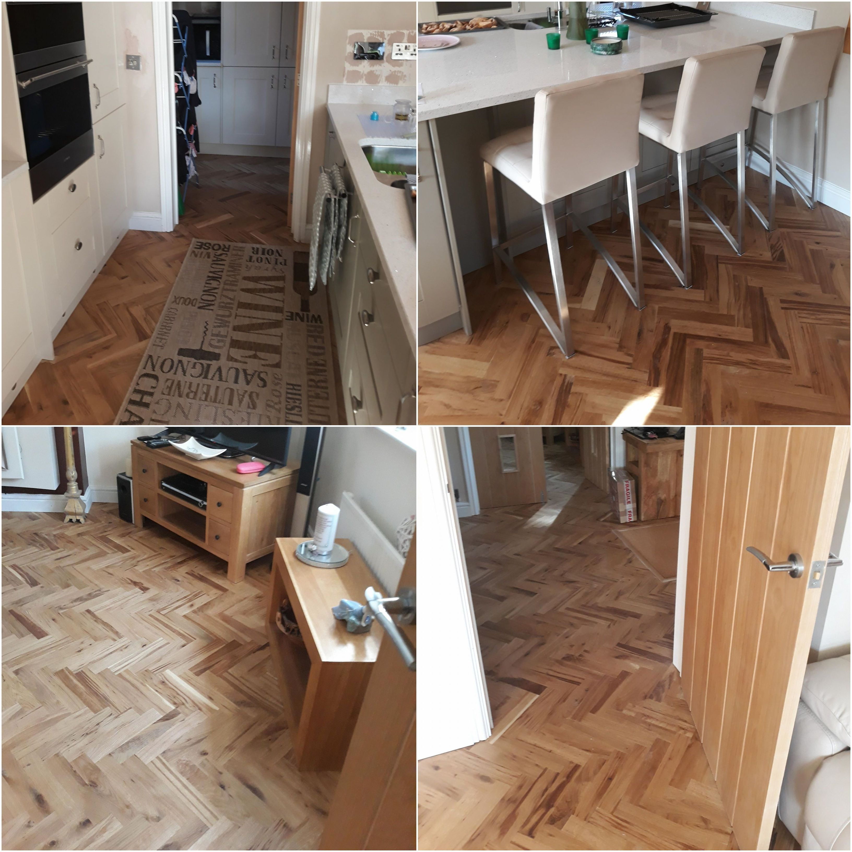 Unfinished Parquet Oak Solid Wood Flooring Flooring